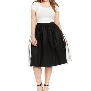 Macy's Exclusive Soprano Plus Tulle Party Skirt